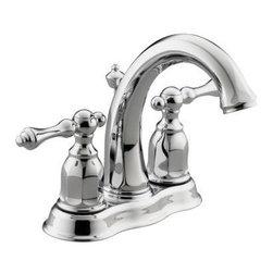 KOHLER - KOHLER K-13490-4-CP Kelston Centerset Bathroom Sink Faucet - KOHLER K-13490-4-CP Kelston Centerset Bathroom Sink Faucet in Polished Chrome