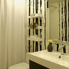 contemporary bathroom by Heather Merenda