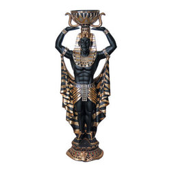 Egyptian Male Plant Holder, 4FT -