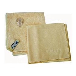 E-cloth Shower Cleaning Cloth - 3 Pack - Improved!2012 - Now includes the the shower cloth and an improved loop to make daily use in the shower even easier