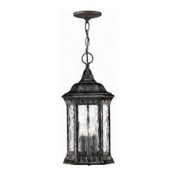 Hinkley Lighting - Hinkley Lighting 1722BG Regal Black Granite Outdoor Hanging Lantern - Hinkley Lighting 1722BG Regal Black Granite Outdoor Hanging Lantern