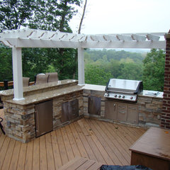 traditional patio by American Deck and Patio