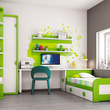 Contemporary Kids Bedroom Furniture Sets by Macral Design Corp