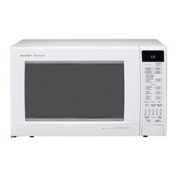 Sharp - Sharp R930AW 1.5-cu-ft 900-watt Convection Microwave - Capacity: 1.5 cubic feetMotor: 900 watts  Dimensions: 24.6 inches wide x 19 inches deep x 15 inches high