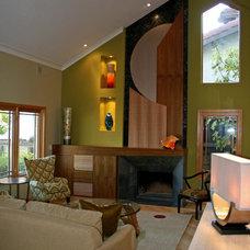 Modern Living Room by Mussman Design Associates
