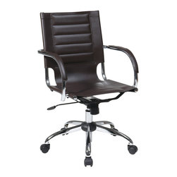 Avenue Six - Trinidad Office Chair - Espresso - Avenue Six Trinidad Office Chair - Espresso
