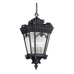 Kichler Lighting - Kichler Lighting 9564BKT Tournai 4-Light Outdoor Pendants/Chandeliers - Outdoor Hanging Pendant