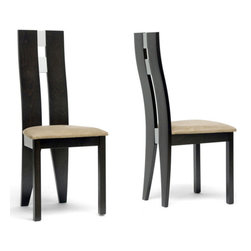 Wholesale Interiors - Casablanca Dining Chair - Set of 2 - You'll be sitting pretty once you've added our Casablanca Designer Dining Chair to your dining room.