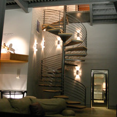 Modern Staircase by Johnston Architects