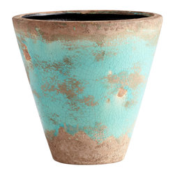 Cyan Design - Cyan Design Cane Planter - Cyan Design 05436 Medium Cane Planter