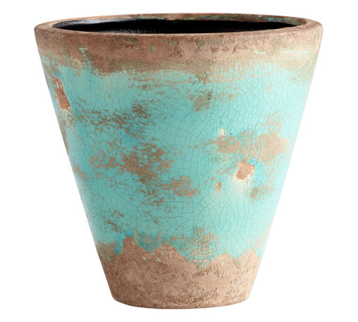 Cyan Design - Cyan Design Lighting - 05436 Medium Cane Planter - Cyan Design 05436 Medium Cane Planter