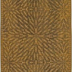 Surya - Surya Dream Transitional Hand Tufted Wool Rug X-319-243TSD - With sophisticated and fashionable designs, the Dream Collection features a series of transitional and traditional patterns reflecting the colors and flavors of the present. Hand tufted from 100% New Zealand wool and individually hand washed, these rugs radiate a luster that will animate any room. The unique splendor and antique finish on these rugs is achieved through special herbal washing techniques.
