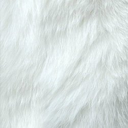 FurAccents - Fur Accents Classic Rectangle Area Rug Premium Shag Faux Fur, True White, 4'x5' - Plush sheepskin design. Made from 100% animal free and eco friendly fibers. Perfect for any room in the house. Skilfully made and tastefully lined with real parchment ultra suede. Luxury, quality and unique style for the most discriminating designer/decorator.