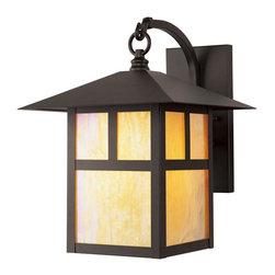 Joshua Marshal - Bronze Wall Lantern - Bronze Wall Lantern