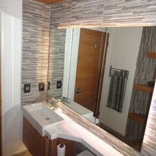 Asian Bathroom by ZenArchitect.com