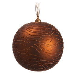 Silk Plants Direct - Silk Plants Direct Wood Grain Pattern Glass Ornament (Pack of 6) - Pack of 6. Silk Plants Direct specializes in manufacturing, design and supply of the most life-like, premium quality artificial plants, trees, flowers, arrangements, topiaries and containers for home, office and commercial use. Our Wood Grain Pattern Glass Ornament includes the following: