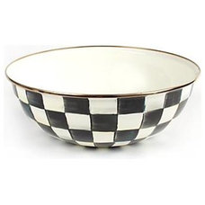 MacKenzie-Childs - Courtly Check Enamel Everyday Bowl - Extra Large
