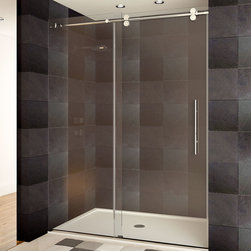 LessCare - LessCare Shower Doors Chrome Finish ULTRA-D Collection - *Condition: New