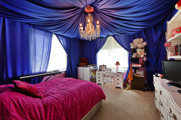 Eclectic Bedroom by SRQ360 Photography
