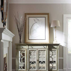 Habersham American Treasures Bahama Sideboard, Mirrored With Lift - One of many designs in Habersham's American Treasures ® Collection of copyrighted furniture designs.