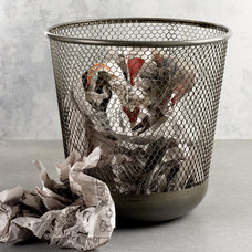 Contemporary Waste Baskets by See Jane Work