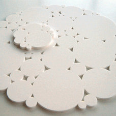 Contemporary Placemats by Greener Grass Design