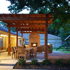 Contemporary Exterior by Greenbrook Homes