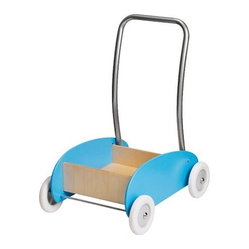 Ekorre Toddle Wagon/Walker, Light Blue