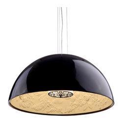 Atmosphere Ceiling Lamp - Polyresin & Painted Metal.