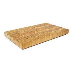 Larch Wood - Larch Wood Large Classic Cutting Board 21-5/8 x 13.5 x 1.75 - This Larch Wood Large Classic cutting board performs as well as it presents.