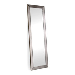 ZUO - Relic Mirror - Simple and straightforward, the full-lenth Relic Mirror does its job and does it beautifully. Boasts an antiqued frame. Perfect for hanging on the bathroom door.