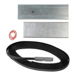 Genie - Genie C-Channel Belt Drive Extension Kit Multicolor - 37302R - Shop for Garage Doors Openers and Accessories from Hayneedle.com! The Genie C-Channel Belt Drive Extension Kit lets you modify your Genie brand SilentMax 1000 or 1200 belt-drive opener for installation of a larger door. Accommodate an 8-foot tall sectional or one-piece garage-door with this easy-to-install kit. This kit includes a larger drive belt rail extensions and other mounting hardware as well as detailed installation instructions. About Genie Company Your wish is the Genie Company's command. Each of their products is constructed with a focus on superior design reliability and safety that's so satisfactory you'd swear it's magic. For over 50 years Genie has provided America with automatic residential garage openers quickly becoming an industry leader. In addition to their garage hardware Genie also offers a number of products for the home including vacuums. For homeowners and commercial users alike Genie has a wide array of products that's perfect for you.