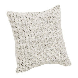 Home Decorators Collection - Faux-Fur Pillow - This home accent offers the comfort and luxury of faux fur as well as the style of a beautiful decorative pillow. With so many color options and patterns to choose from, it is easy to find the one that fits your space. Quality crafted of durable synthetic materials for years of lasting beauty and use. Makes a great gift idea for any occasion.