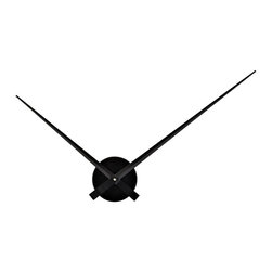 "Modway Furniture - Modway Spoken Wall Clock in Black - Wall Clock in Black belongs to Spoken Collection by Modway ""Every moment counts"" in simple, striking fashion with the Spoken clock. Make a statement as you take both small and big leaps of exuberance. Spoken adds a simple, sleek way to add style while staying focused on your daily ambitions and goals. Set Includes: One - Spoken Wall Clock Wall Clock (1)"
