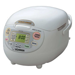Zojirushi NS-ZCC18 Neuro Fuzzy Rice Cooker and Warmer, 10 cup