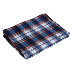 "Blancho Bedding - [Trendy Plaids - Blue/Orange/White] Soft Coral Fleece Throw Blanket (71""-79"") - The Coral Fleece Throw Blanket measures 71 by 79 inches. Whether you are adding the final touch to your bedroom or rec-room, these patterns will add a little whimsy to your decor. Machine wash and tumble dry for easy care. Will look and feel as good as new after multiple washings! This blanket adds a decorative touch to your decor at an exceptional value. Comfort, warmth and stylish designs. This throw blanket will make a fun additional to any room and are beautiful draped over a sofa, chair, bottom of your bed and handy to grab and snuggle up in when there is a chill in the air. They are the perfect gift for any occasion!"