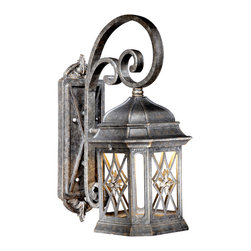 "Vaxcel - Vaxcel DS-SDOWD090VT Sardinia Dark Sky 9"" Outdoor Wall Light Vintage Patina - Vaxcel DS-SDOWD090VT Sardinia Dark Sky 9"" Outdoor Wall Light Vintage Patina"