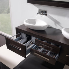 Contemporary Bathroom Cabinets And Shelves by Macral Design Corp.