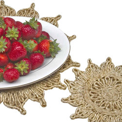 Toockies - Toockies Flower Trivets - If you're like most people, you rarely think about the trivets in your kitchen, even though you likely reach for them frequently to protect your counter tops.
