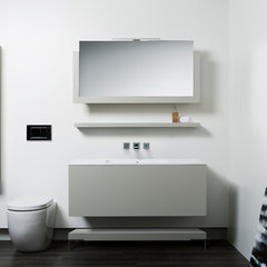contemporary bathroom vanities and sink consoles by Blu Bathworks