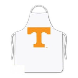 Sports Coverage - Tennessee Volunteers Tailgate Apron - Collegiate Tennessee University Volunteers White screen printed logo apron. Apron is 100% cotton twill with screenprinted logo. One Size fits all.