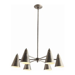Sherman Iron Chandelier