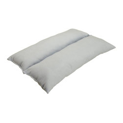 "Hermell Products Inc - Easy Rest Pillow - L 20"" x H 1.5"" x W 14"" - Comfortably sit, read, and watch TV in any chair or mobility aid (wheelchairs, scooters, recliners, desk chairs) with this uniquely designed Neck or back rest cushion has versatile applications. You"