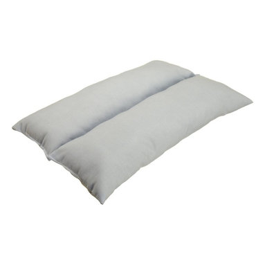 """Hermell Products Inc - Easy Rest Pillow - L 20"""" x H 1.5"""" x W 14"""" - Comfortably sit, read, and watch TV in any chair or mobility aid (wheelchairs, scooters, recliners, desk chairs) with this uniquely designed Neck or back rest cushion has versatile applications. You"""