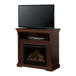 Dimplex - Dimplex Thorton Electric Fireplace Media Console Multicolor - GDS25-1362E - Shop for Fire Places Wood Stoves and Hardware from Hayneedle.com! This compact Dimplex Thorton Electric Fireplace Media Console brings elegance and comfort into any space. Its firebox comes with a lively realistic wood fire that remains cool to the touch safe for little hands. It is remote controlled and the heat can be turned on and off. Its rich espresso finish and fine lines make it an elegant edition to any living space.< /p> About DimplexDimplex North America Limited is the world leader in electric heating offering a wide range of residential commercial and industrial products. The company's commitment to innovation has fostered outstanding product development and design excellence. Recent innovations include the patented electric flame technology - the company made history in the fireplace industry when it developed and produced the first electric fireplace with a truly realistic wood burning flame effect in 1995. The company has since been granted 87 patents covering various areas of electric flame technology and 37 more are pending. Dimplex is a green choice because its products do not produce carbon monoxide or emissions.