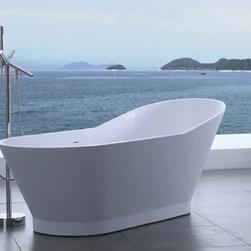 """Tabiano Luxury Modern Bathtub 69.3"""" - Tabiano  Luxury Modern Bathtub"""