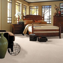 Shaw Carpet Tranquil Dawn - Create texture with uneven loops, or choose uncut level loops for high-traffic areas. Pattern: Go for dramatic, unique visuals with loops and cuts of varying heights. Texture: Create a less formal look with the smooth, level finish of twisted yarns. Twist: Go for a soft, comfortable, casual look with this longer cut pile, also known as Frieze. Face Weight: 35.10 oz./sq.yd.