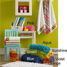 Bathroom Accessories Shag Chenille 100-percent Cotton Kids 20 x 32 Bath Rug