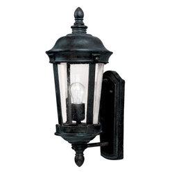 Maxim Lighting - Maxim Lighting 3020CDBZ Dover Cast 1-Light Outdoor Wall Lantern In Bronze - Features