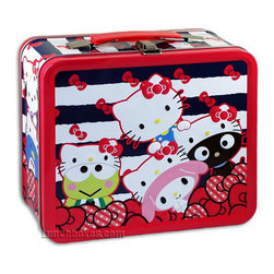 Hello Kitty Lunch Box - Does anyone remember these metal lunchboxes? I was filled with nostalgia when I stumbled upon this. This limited edition Hello Kitty lunchbox will be the perfect hit with younger kids!